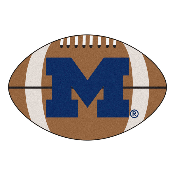 "Michigan  ""Football"" Floor Mat (22""x35"")"