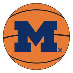 "Michigan ""Basketball"" Round Floor Mat (29"""