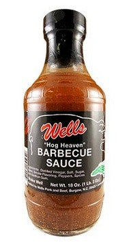 Wells Pork Hog Heaven BBQ Sauce