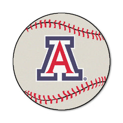 "Arizona ""Baseball"" Round Floor Mat (29"")"