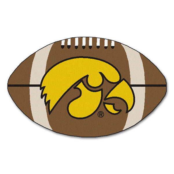 "Iowa Hawkeyes ""Football"" Floo Mat (22""x35"")"