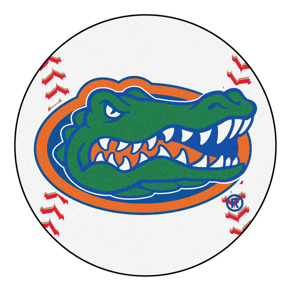 "Florida ""Baseball"" Round Floor Mat (29"")"