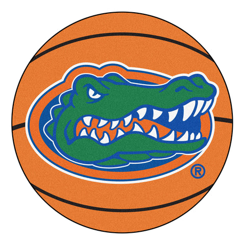 "Florida Gators ""Basketball"" Round Floor Mat (29"")"