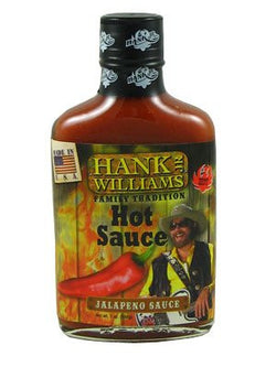 Hank Williams Jr.'s Family Tradition Jalapeno Hot Sauce