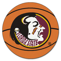 "Florida State ""Basketball"" Round Floor Mat (29"")"
