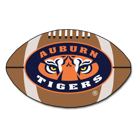 "Auburn Tigers War Eagles ""Football"" Floor Mat (22""x35"")"