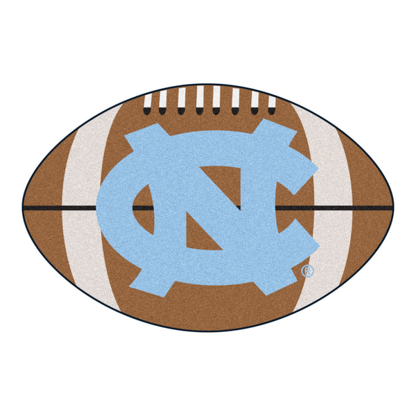 "North Carolina ""Football"" Floor Mat (22""x35"")"