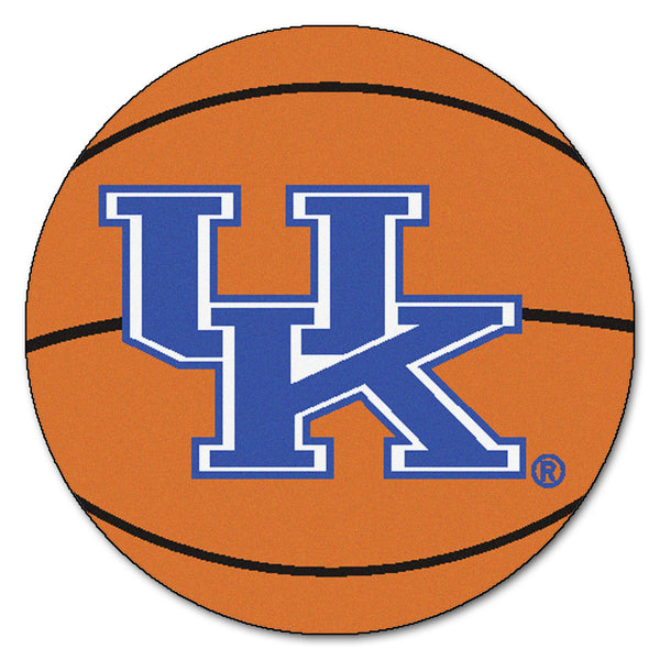"Kentucky  ""Basketball"" Round Floor Mat (29"")"