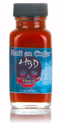 Hearbreaking Dawn's Nuit En Enfer Hot Sauce