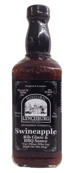 Historic Lynchburg Tennessee Whiskey Swineapple Rib Glaze