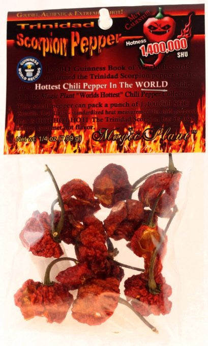Dried Scorpion Peppers