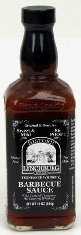 Historic Lynchburg Tennessee Whiskey Mild Barbecue (86'Poof')
