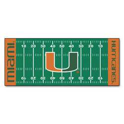 "Miami Hurricanes Floor Runner (29.5""x72"")"