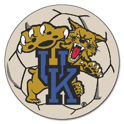 "Kentucky NCAA ""Soccer Ball"" Round Floor Mat (29"")"