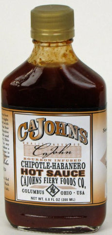 Cajohn's Bourbon Infused Hot Sauce