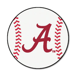 "Alabama ""Baseball"" Round Floor Mat (29"")"