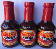 Big Bob Gibson Habañero Red Sauce 19 oz