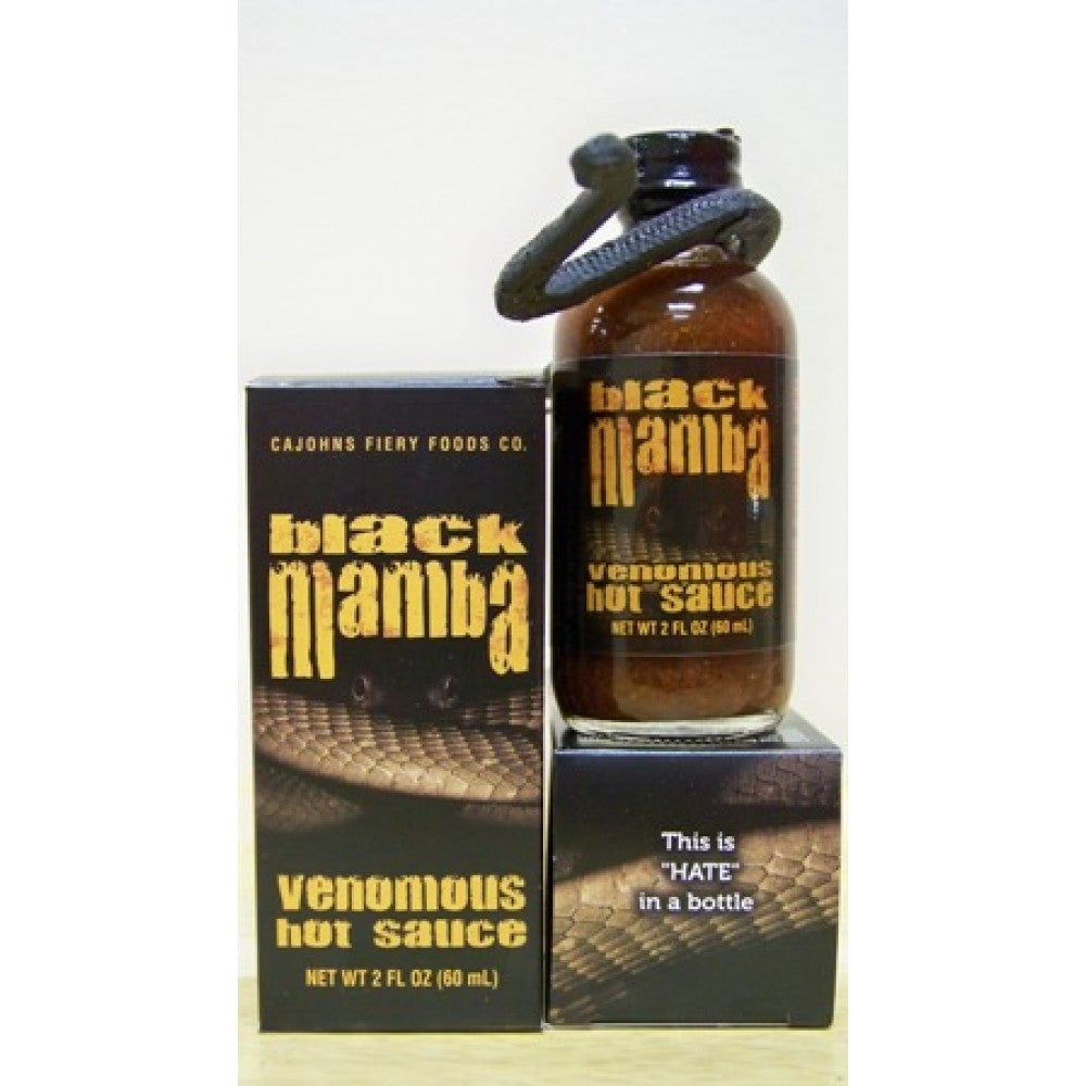 Black Mamba Extreme Hot Sauce
