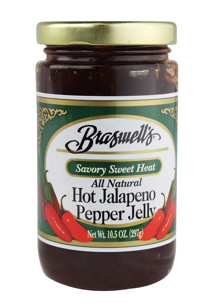 Braswell's Hot Jalapeno Jelly, 10.5 oz