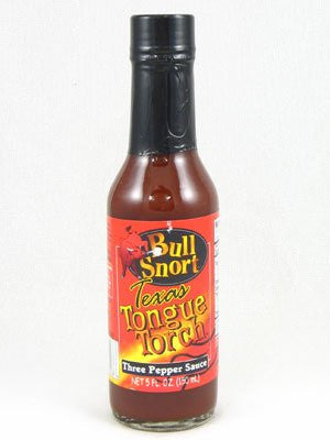 Bull Snort Texas Tongue Torch Tarte Pepper Sauce Hot