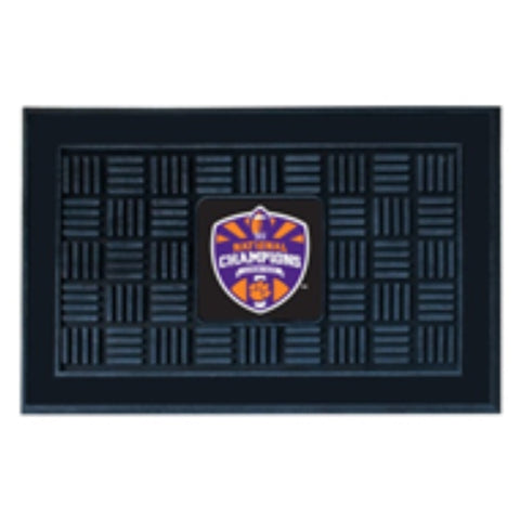 Clemson National Champions Utility Door Mat 19X30