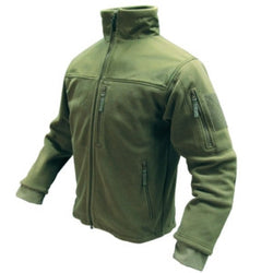 Alpha Fleece Jacket Color- OD Green