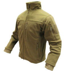 Alpha Fleece Jacket Color- Tan