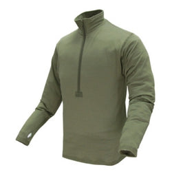 Base II Zip Pullover Color- OD Green