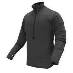 Base II Zip Pullover Color- Black