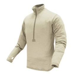 Base II Zip Pullover Color- Sand