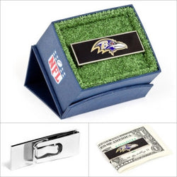 Baltimore Ravens NFL Money Clip