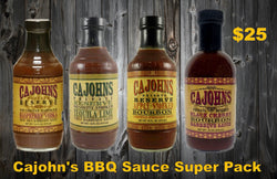 CaJohn's Super Pack Barbeque Sauce