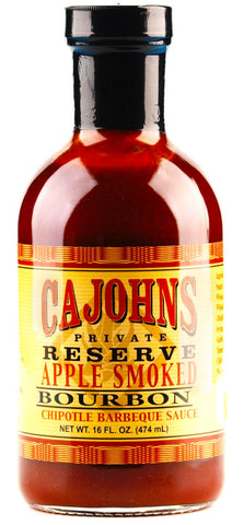 Cajohn's Applewood Smoked Bourbon Chipotle Barbecue Sauce