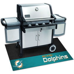 Miami Dolphins NFL Grill Mat