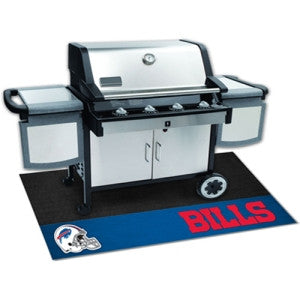 Buffalo Bills NFL Vinyl Grill Mat