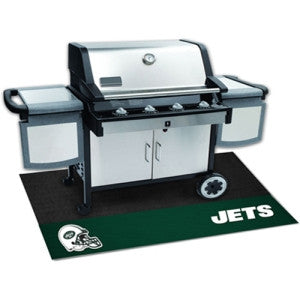 New York Jets NFL Vinyl Grill Mat
