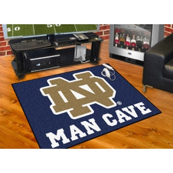 "Notre Dame Fighting Irish NCAA Man Cave ""All-Star"" Floor Mat (34in x 45in)"