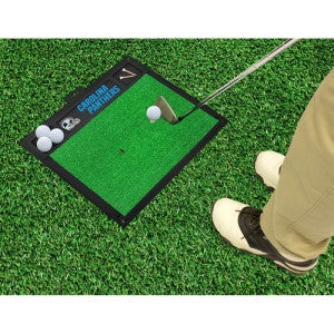 Carolina Panthers NFL Golf Hitting Mat (20in L x 17in W)