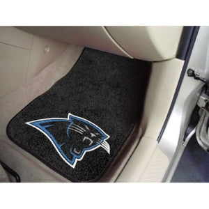 Carolina Panthers NFL Car Floor Mats (2 Front)