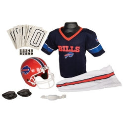 Buffalo Bills Youth NFL Deluxe Helmet and Uniform Set