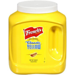 French's Classic Yellow Mustard, 105 oz