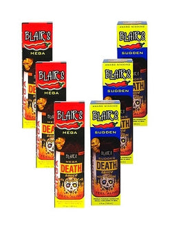 Blair's Super Six Death Sauce Gift Set 6/5oz.