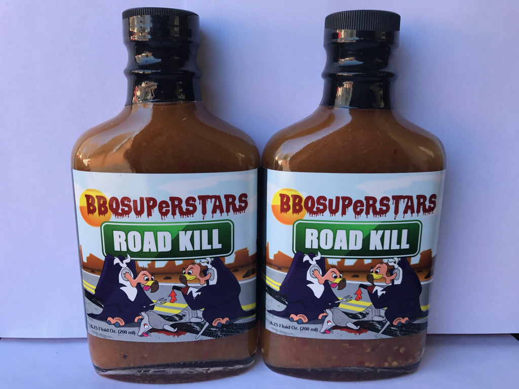 Road Kill Hot Sauce - XXX Hot Orange Habanero