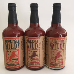 Absolutely World Famous BBQ Sauce 26.5 oz 3 Flavor
