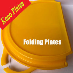 Handee Tailgate Plates by Keno Plates Pack of 4