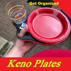 Handee Tailgate Plates by Keno Plate Single Drink Pack of 4X3 Packs