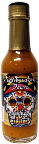 Heartbreaking Dawn's Mango Habanero Hot Sauce