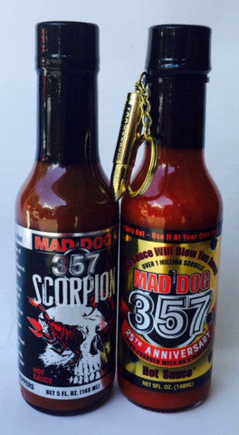 Mad Dog 357 Scorpion Hot Sauce, 25th Year Addition Mega Pack