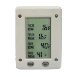 MODEL RF-02 REFRIGERATOR/FREEZER DIGITAL THERMOMETER
