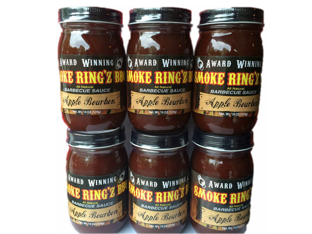 AA Smoke Ring'z Apple Bourbon BBQ Sauce